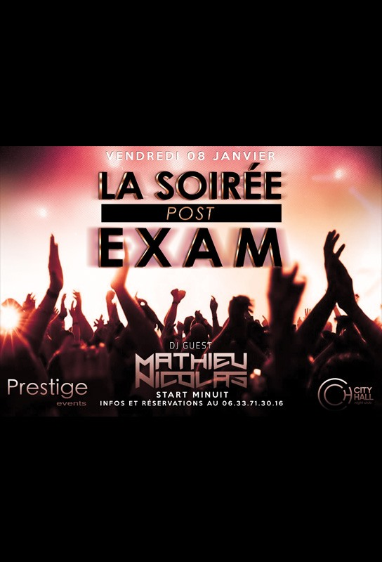 flyer soire exam